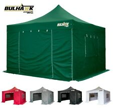 BULHAWK 4x4 PREMIUM PLUS 40mm HEAVY DUTY COMMERCIAL GRADE POP UP GAZEBO MARQUEE