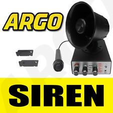 SIREN HORN 12V ANIMAL SIREN MIC CAR VAN PA AIR SHOW