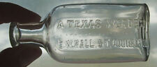 Killer Quack Medicine bottle A TEXAS WONDER Pristine Clean Condition
