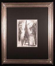 Le Peintre et son Modele - Orig Lithograph by Pablo PICASSO