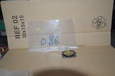 10 MEMBRANES 0086 POUR CARBURATEUR WEBER W ADF (SERIE) FIAT ALFA 47407163