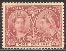CANADA #61 Mint VF - 1897 $1.00 Jubilee