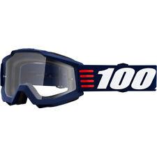 100% Percent Accuri Goggle Art Deco Clear Lens MX Motocross ONE-50200-348-02