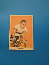 OCKERS  N° 70 Card Carte SODIMA cyclisme ciclismo cycling 1959 belgie belgique