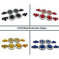 4PCS Metal Brake Disc Caliper For 1/7 TRAXXAS Unlimited Desert Racer UDR RC Car