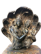 The Love Of Lord Shiva And Parvati Under Cobra Snakes 9th Century Style Statue