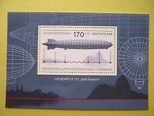 """Block  69 ** ,BRD 2007,  Nr. 2589,  LZ 127  """"Zeppelin"""""""