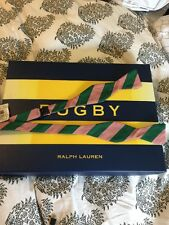 Polo Ralph Lauren Rugby Bow tie. Ivy League Stripe Pink And Green New With Tags