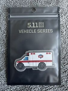 NEW 5.11 Tactical Vehicle Series Ambulance Hook Back Morale Patch 81976