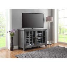 Tall TV Stand Farmhouse Rustic Entertainment Center Cabinet Credenza Console New