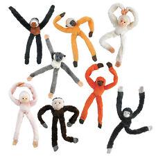 Monkey Soft Toys Magnetic Fridge Magnets Plush Cuddly Gibbon 15cm RANDOM 1FIGURE