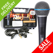 PD M660 Professional DJ PA Karaoke Wired Handheld Vocal Microphone condenser mic