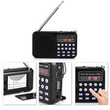 Digitale Audio Musica Lettore Altoparlante LED Torcia Supporto FM Radio USB/TF