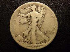 1921 s liberty walking half dollar