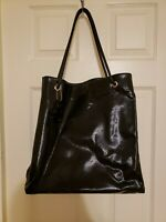 Authentic Gucci black tote bag extra large preowned