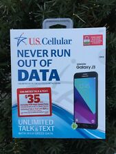 Samsung Galaxy J3 - (US Cellular) Ready Connect PREPAID  Plans Only