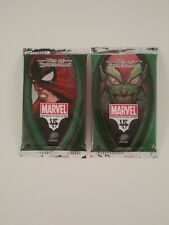 Vs. System Web of Spider-Man 1st Edition Booster Packs (2) New Unopened