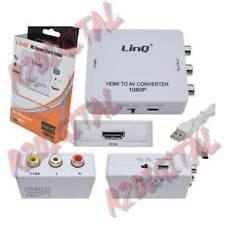 CONVERTITORE DA HDMI A AV VIDEO DIGITALE ANALOGICO HDMI USCITA RCA CVBS + AUDIO