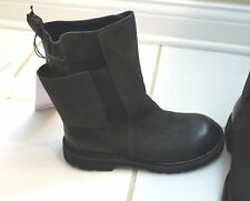 NEW AUTH  RUNDHOLZ BLACK LEATHER BOOTS SHOES GREAT FOR LAGENLOOK CLOTHES