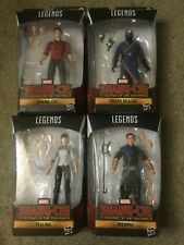 Shang-Chi four Marvel Legends action figure set NEW in BOX but NO BAF pieces
