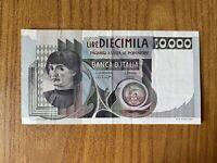 REPUBBLICA ITALIANA BANCONOTA LIRE 10000 DEL CASTAGNO 30 10 1976