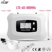 LTE 4G 800MHz Mobile Signal Booster Cell Phone Signal Amplifier Phone Repeater