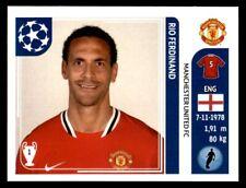 Panini Champions League 2011-2012 - Rio Ferdinand Manchester United FC No. 144