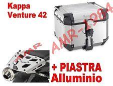 BAULE TOP CASE K-VENTURE KVE42A 42LT + PIASTRA SRA6401 TRIUMPH TIGER 800 XC 800