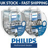 Philips WhiteVision Ultra White Vision Car Headlight Bulbs H4 H7 Fittings (Twin)