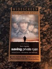 Saving Private Ryan (VHS, 2005) Widescreen Special Limited Edition