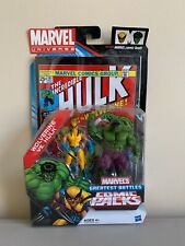 2011 New Marvel Universe Greatest Battles Comic Packs Wolverine vs Hulk