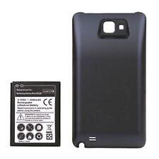 Power Akku 5000 mAh + Akku Deckel Samsung Galaxy Note N7000 i9220 #p862
