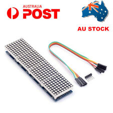 AU MAX7219 Dot Matrix Module 4 In 1 LED Display MCU for Arduino Microcontroller