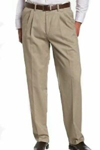 "Beige / Stone  chino style trousers, Smart classic material 36"" waist 31"" Leg"