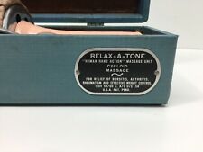 Antique Electric Relax A Tone Massager 1940's