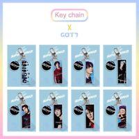 Kpop GOT7 Abbildung Keychain Acrylschlüsselring BAMBAM JACKSON MARK ewDkc flYfE