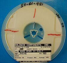 BCI 0805 Resistor 316 Ohm Reel 1% 0805RC051%-316-T, 4000pcs