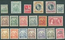 BARBADOS mint stamp collection from 1892 onwards