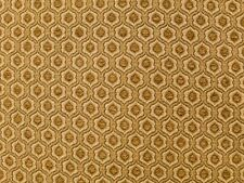 "Chenille Honey Honeycomb Drapery home fabric by the yard 57"" Wide Upholstery"