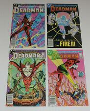 DC Comics Deadman 4 Part Mini Series #1 2 3 4 1986 1st Issue Full Set VF to VFNM