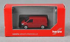 HERPA 028721 [H0,1:87] VW T6 Kombi, kirschrot - NEUWARE!