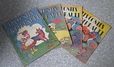 1943 Les Contes de Perrault  4 Fascicules Enfants de France