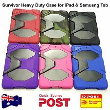 Survivor Heavy Duty Case for iPad 2/3/4 Air 1/2 iPad Pro Samsung Galaxy Tab A S2