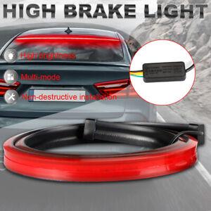 "40"" High Mount Car LED Rear 3rd Brake Strip Driving Light Turn Signal Tail Lamp"