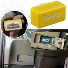 Nitro OBD2 Chip Tuning Box Petrol Car Power Engine ECU Remap Performance Yellow