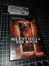 SILENT HILL 4 THE ROOM PS2 COMPLETE (DISC+CASE+MANUAL) TESTED WORKING MINOR WEAR