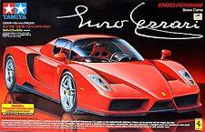Ferrari Enzo 2002-04 - 1:24 Kit Construcción WI th TRANSPARENTE Trasero Bajo