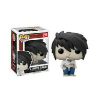 Funko pop death note with cake figura figure manga coleccion anime vinyl