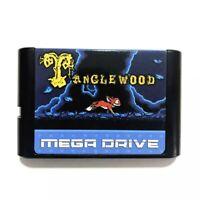 7Tanglewood For SEGA GENESIS Mega Drive 16 bit Game Cartridge