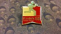 Kodak Olympics Sponsor Running Seoul Korea 1988 jacket pin